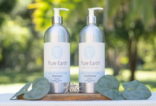 natural quality sustainable shampoo conditioner