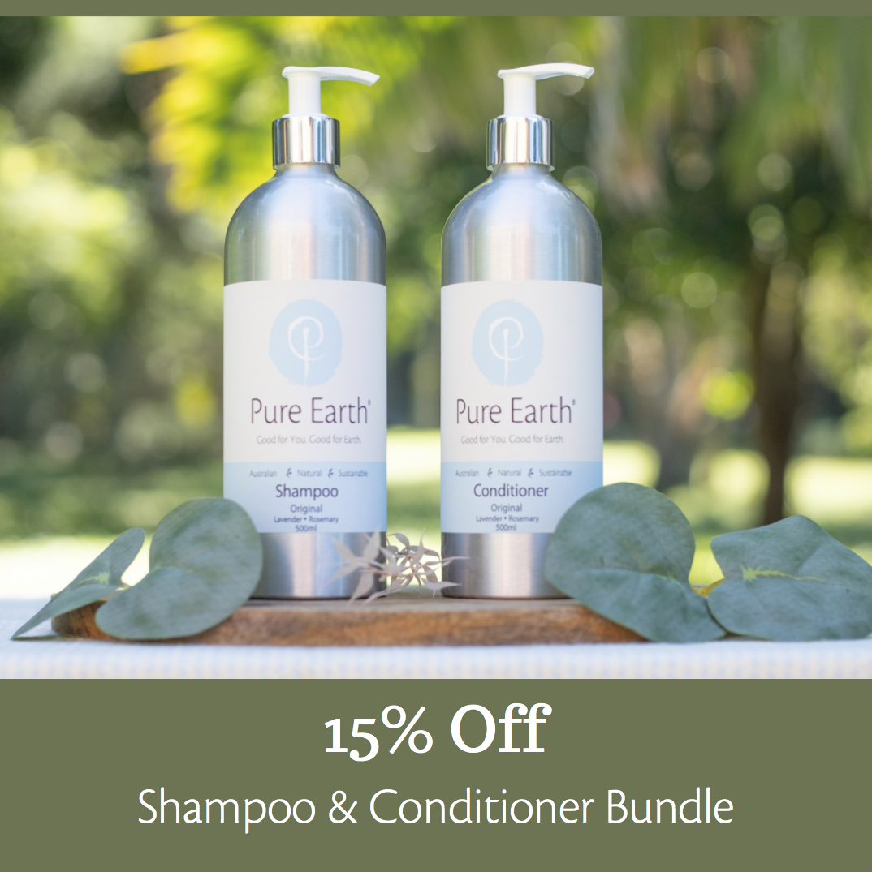 Pure Earth Natural Hair Care Bundle
